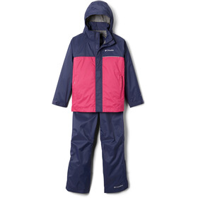 Columbia Simpson Sanctuary II Rain Set Kids nocturnal/cactus pink